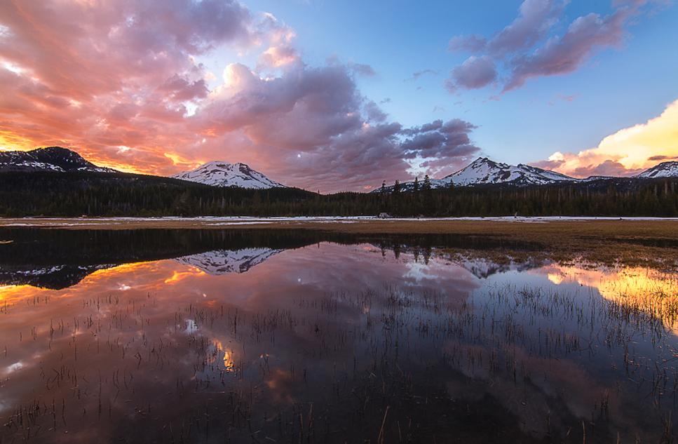 Sparks Lake / Photo by Skyler Hughes